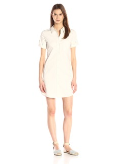 Theory Women's Mayvine Light Poplin Shirt Dress