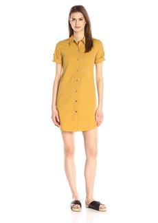 Theory Women's Mayvine Light Poplin Shirt Dress