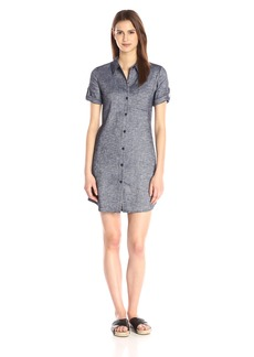 Theory Women's Mayvine Tierra Wash Shirt Dress