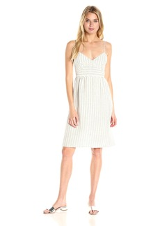 Theory Women's Melaena B Narrow Stripe Dress