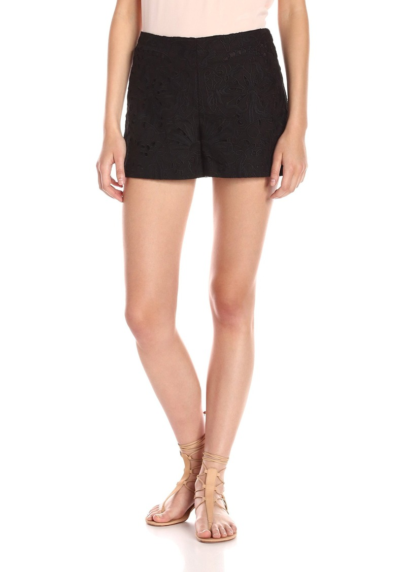 Theory Women's Micro E Embroidered Pant