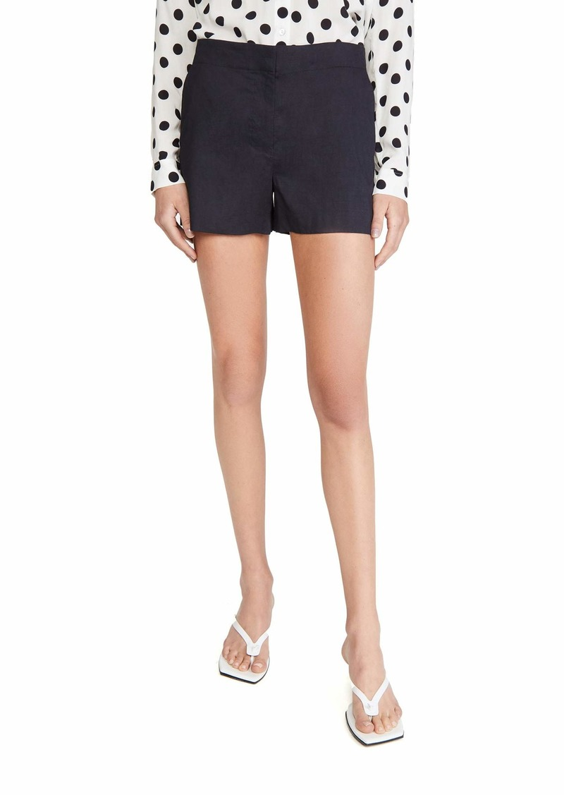 Theory Women's Mini Shorts  Black