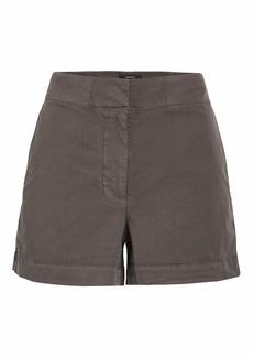 Theory Women's Mini Shorts  Grey