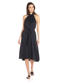 Theory Women's Nayline Washed Poly Dress Concord