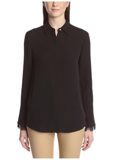 Theory Women's Niteesh Button Down Shirt