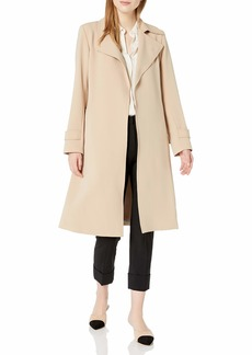 Theory Women's Oaklane Crepe Trench Coat  S