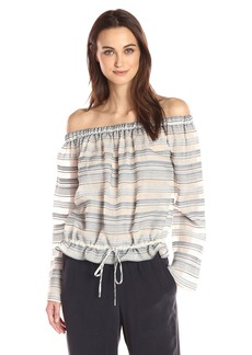 Theory Women's Odettah Vall Stripe Top  L