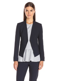 Theory Women's Open Front Lanai Blazer deep Navy