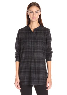 Theory Women's Orvinio Avalon Plaid Shirt  As   M