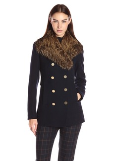 Theory Women's Overby Belmore Coat    P