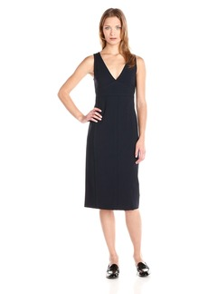 Theory Women's Parmida Befit Sleeveless V-Neck Dress