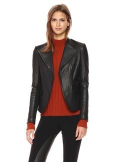 Theory Women's Peplum JKT L Jacket/Vest  M