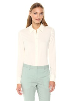 Theory Women's Perfect Fitted Top  L