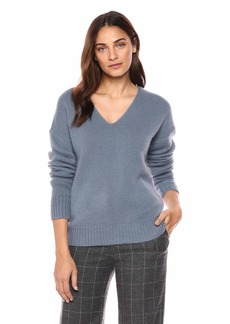 Theory Women's Relaxed Vneck Pullover Sweater  S