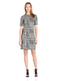 Theory Women's Rijik B Configure Printed Dress