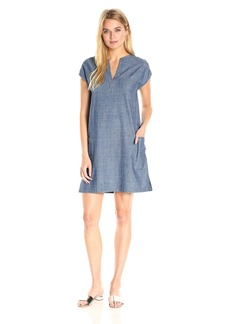 Theory Women's Saturnina Cl Chambra Dress  L