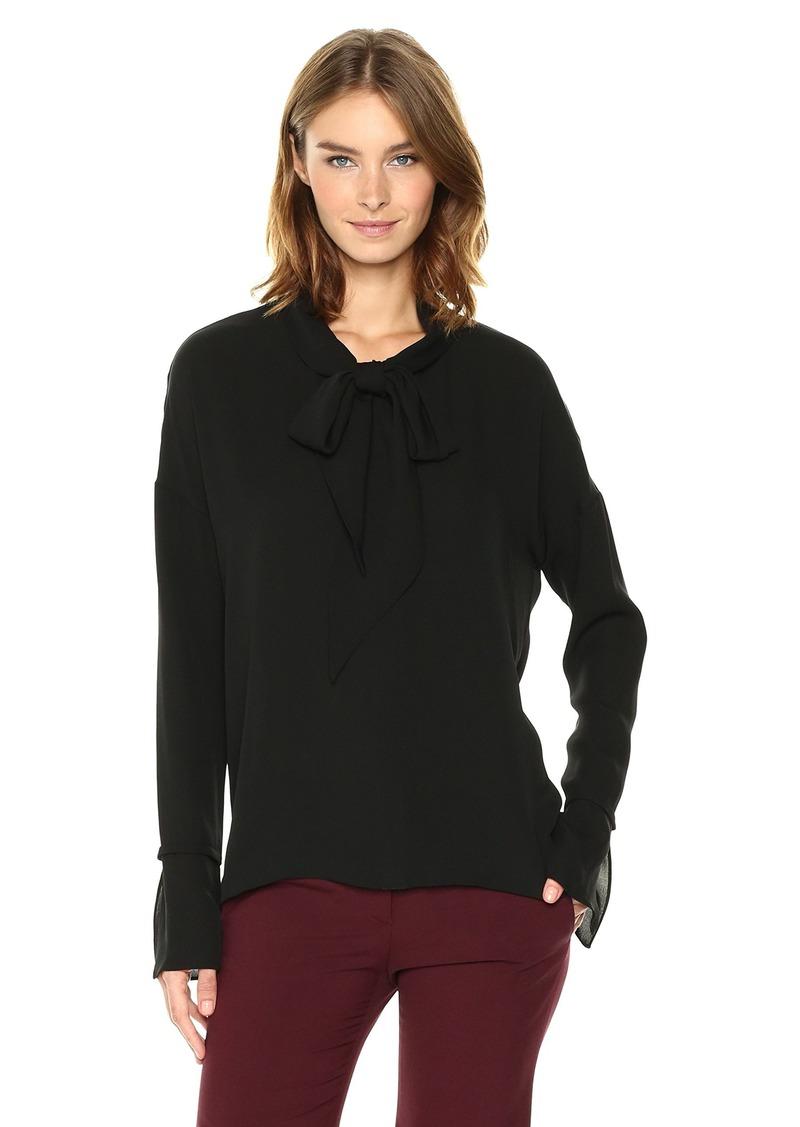 Theory Women's Scarf Shirt B Top  M