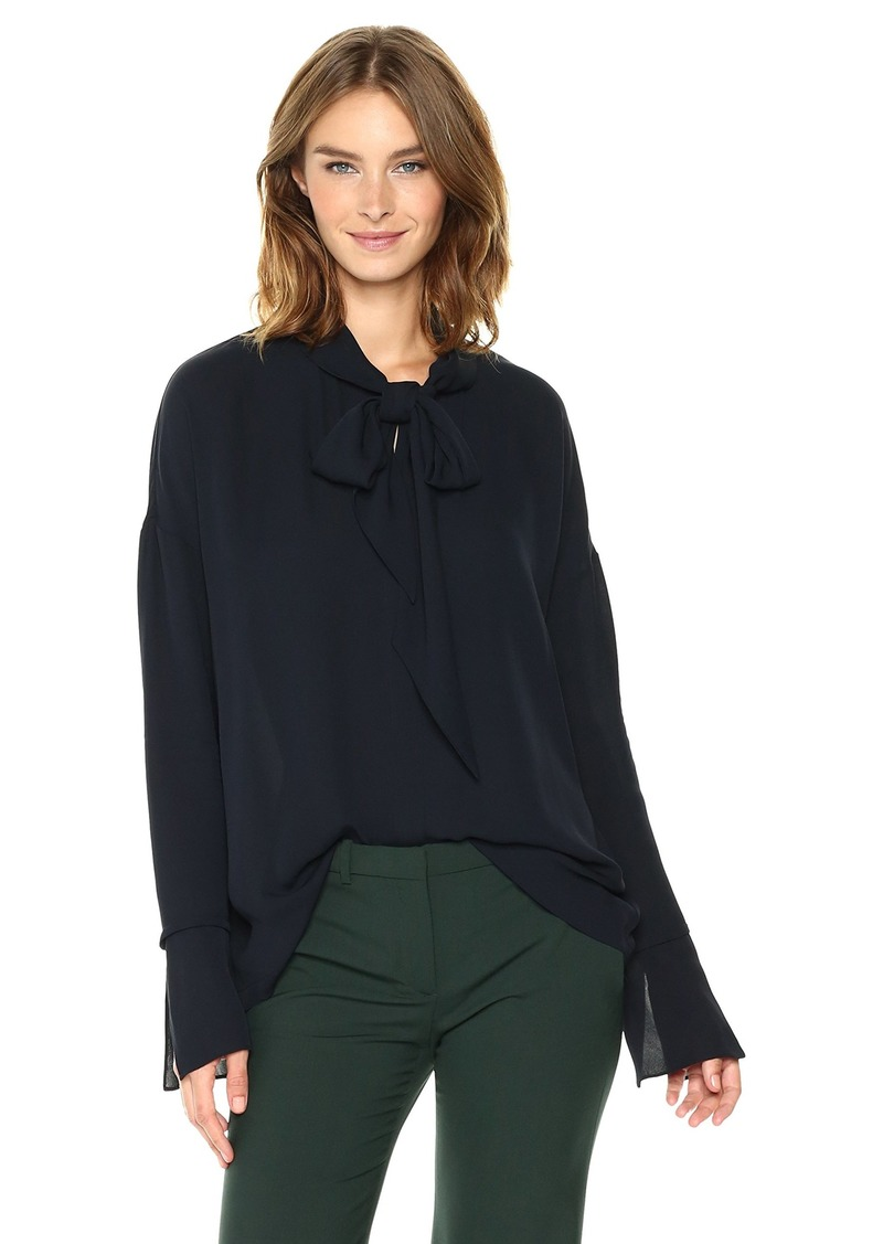 Theory Women's Scarf Shirt B Top  S