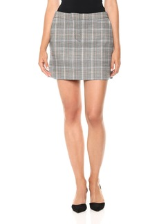 Theory Women's Seamed Mini Skirt