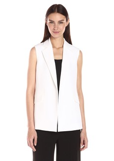 Theory Women's Sedeia Admiral Crepe Vest