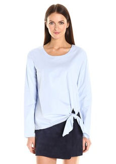 Theory Women's Serah Stretch Cotton Top  L