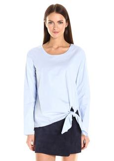 Theory Women's Serah Stretch Cotton Top  L