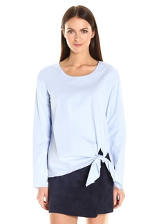 Theory Women's Serah Stretch Cotton Top  S