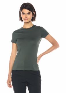 Theory Women's Short Sleeve Tiny TEE deep Poplar M