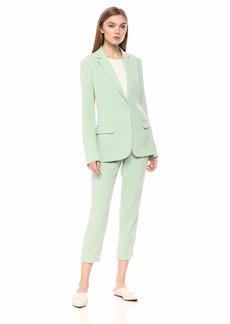 Theory Women's Single Button Staple Blazer B