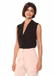 Theory Women's Sleeveless Shawl Collar Shell  S