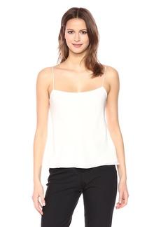 Theory Women's Sleeveless Silk Combo Slip TOP  L