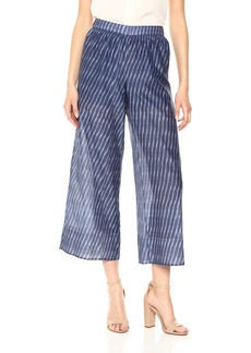 Theory Women's Smocked Culotte Pant  L