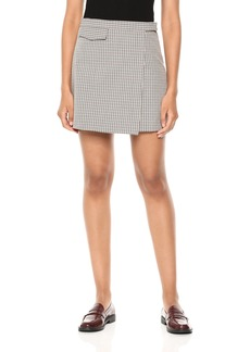 2e4defe88 Theory Theory L Paper Leather Micro-Mini Skirt | Skirts