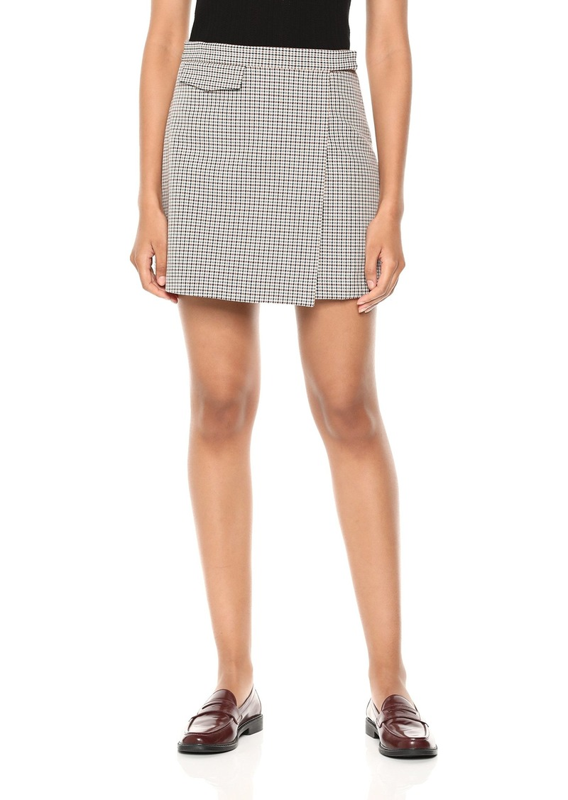Theory Women's SNAP Mini Skirt