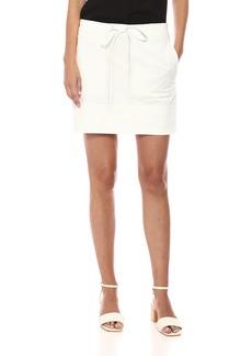 Theory Women's Stitched Pocket Mini Skirt  L