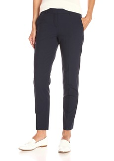 Theory Women's Testra Ankle Length Pant deep Navy