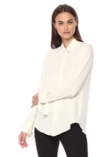 Theory Women's Tie Cuff Shirt 2  M