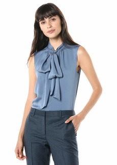 Theory Women's Tie Scarf Top  S