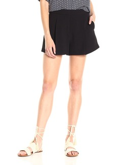 Theory Women's Tohni Rosina Crepe Shorts