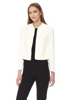 Theory Women's Tweed Flounce Jacket  S