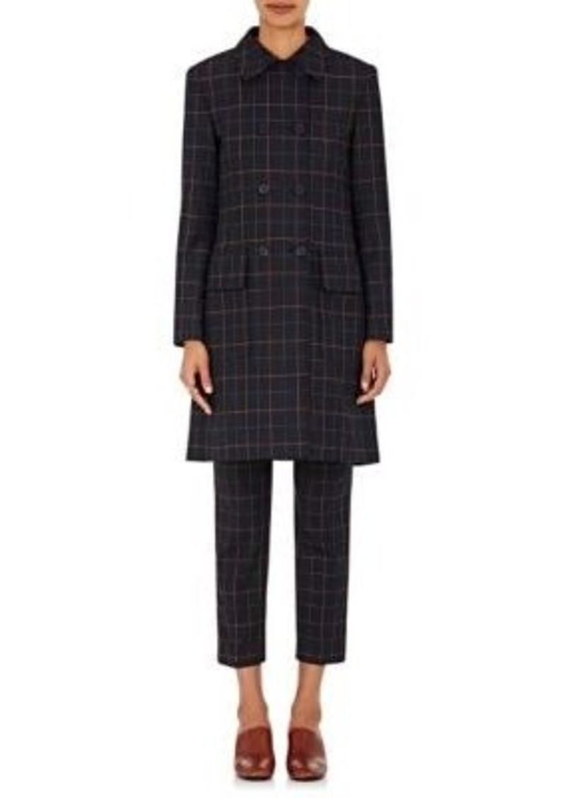 Theory Women's Twill Double-Breasted Abla Coat