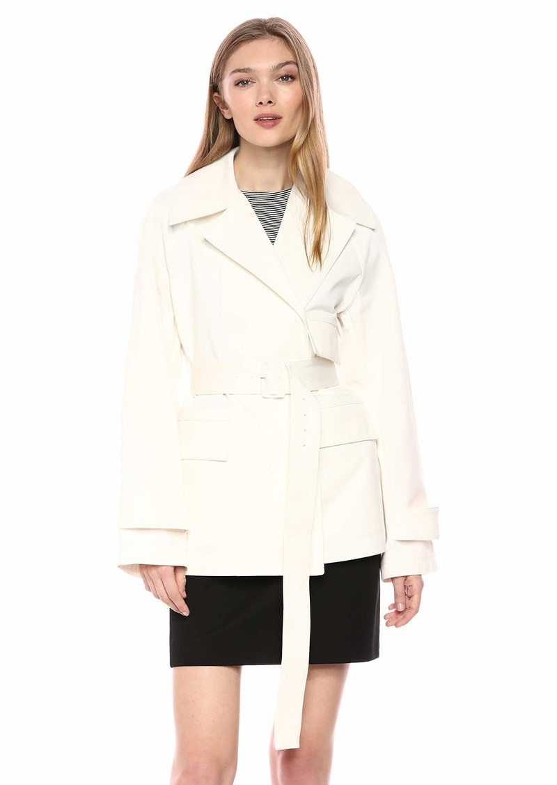 Theory Women's Utility Trench Coat  L