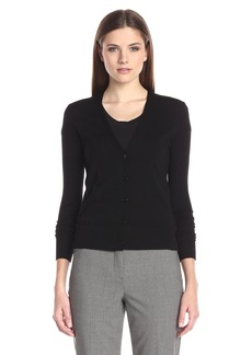 Theory Women's Long Sleeve V Neck Cardigan