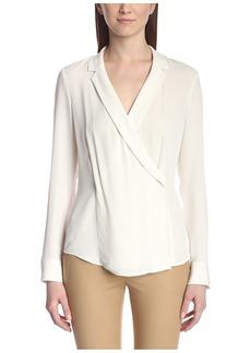 Theory Women's Vihona Wrap Shirt