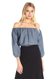 Theory Women's Waleska Chambray Den Top  M