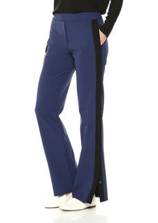 Theory Women's Wide Leg Pull on Snap Pant  S