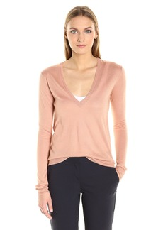 Theory Women's Yulia V Fine Cashsilk Sweater  P