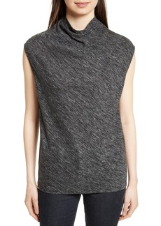 Theory Woodsen Cowl Neck Knit Tank