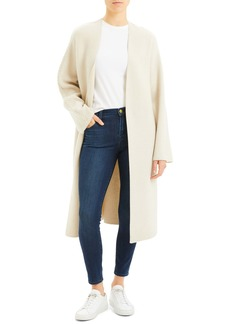 Theory Wool & Cashmere Sweater Coat