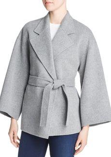 Theory Wool & Cashmere Wrap Jacket